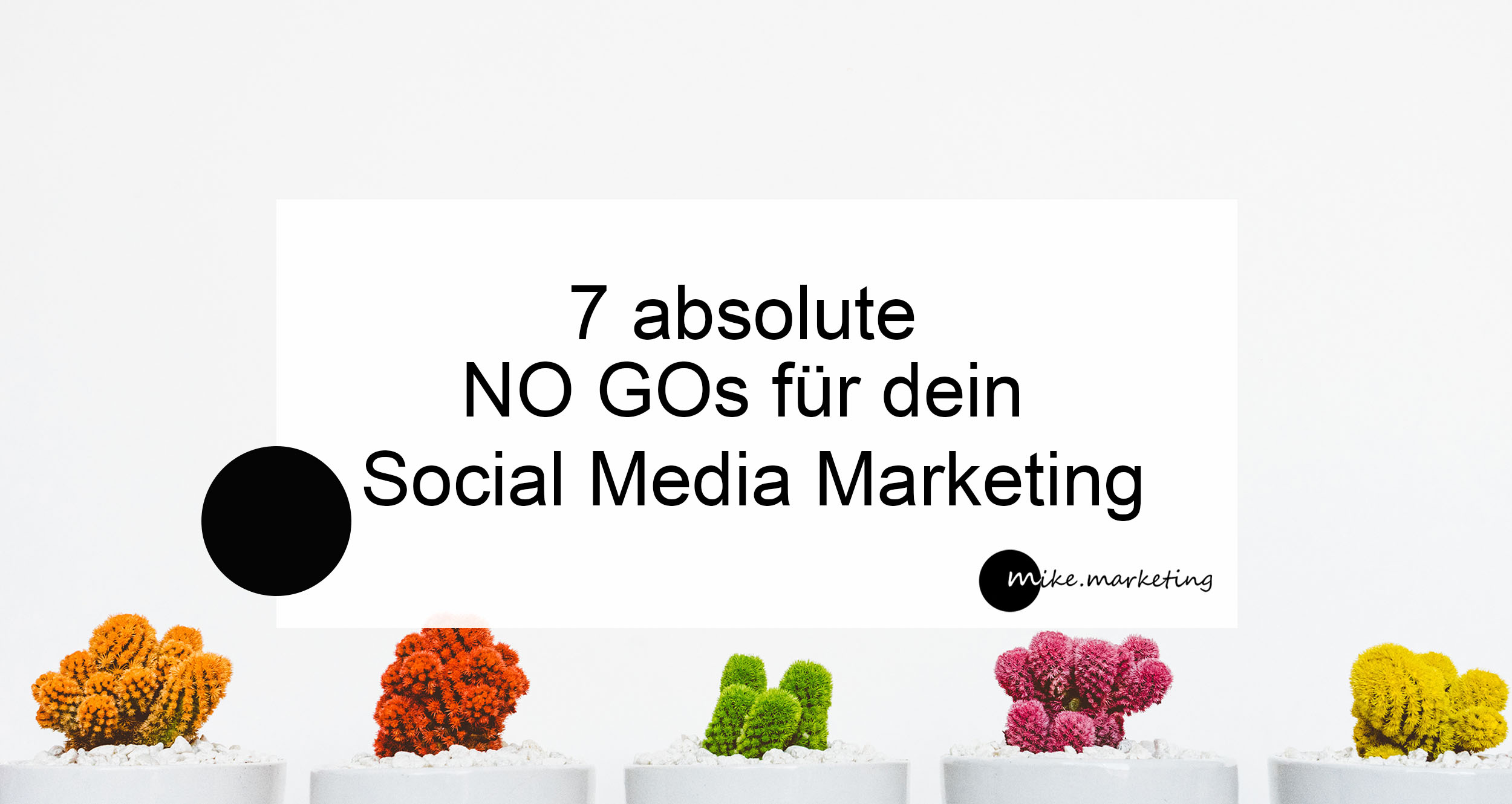 no go social media marketing_mikemarketing_Michaela Benkitsch